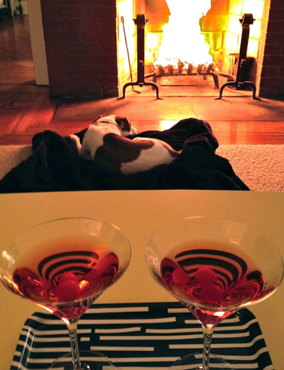 manhattans-by-the-fireplace