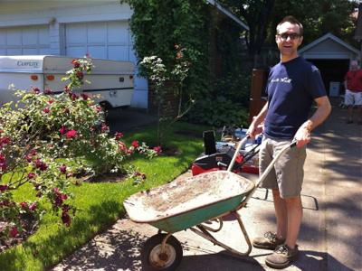 john-with-wheelbarrow