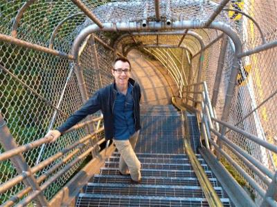 john-on-stairs