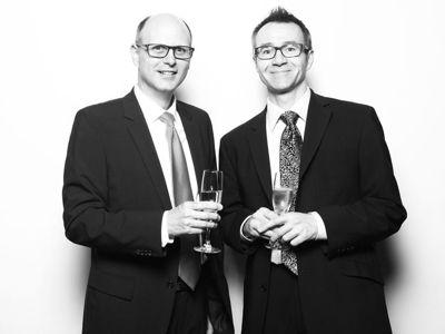 dan-and-john-celebrate-with-champagne