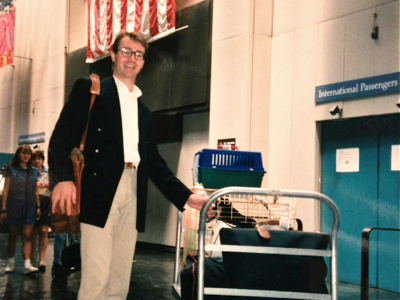 john-at-airport
