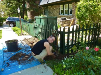 john-digging