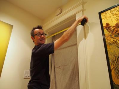 john-measuring