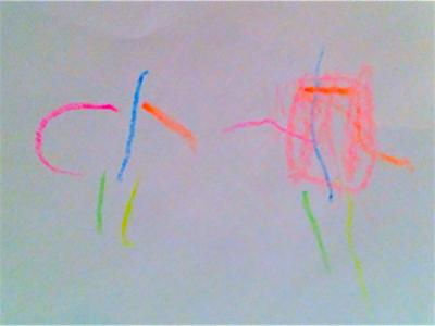 will's-crayon-superhero-drawing