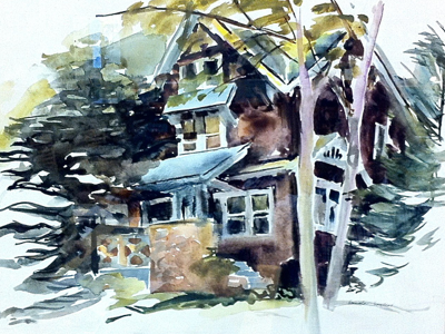 watercolor-painting-of-house