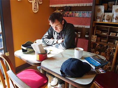 john-reading-at-breakfast