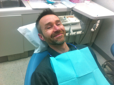 john-at-dentist