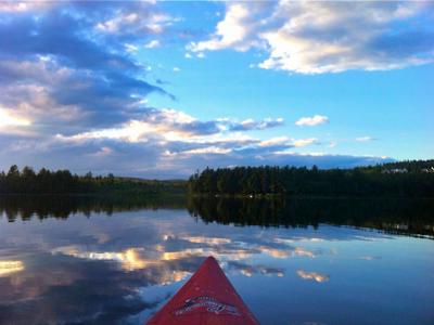 kayaking-at-the-pond