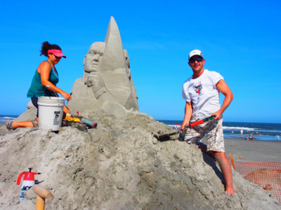 working-on-sand-sculpture