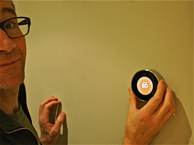 john-with-nest-thermostat