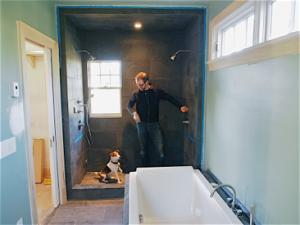 john-and-jack-explore-bathroom