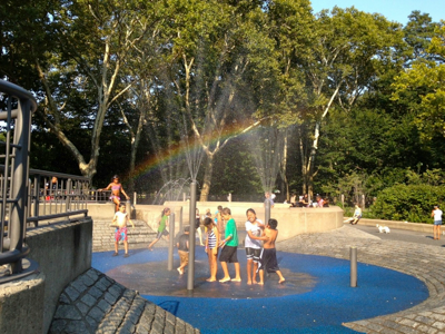 sprinklers-and-rainbow
