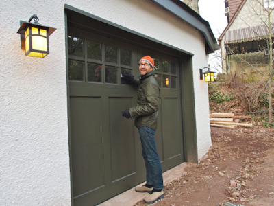 john-with-new-garage