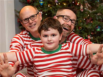dan-john-and-will-matching-pajamas