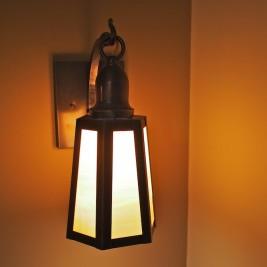 Mission Style Bedside Lanterns