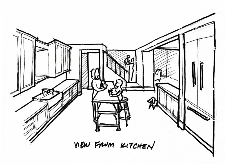 5.Kitchen Sketch